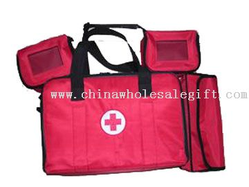 first aid kit or first aid bag