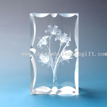 Foremost Crystal laser etched crystal