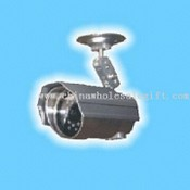 CCTV Color Weatherproof IR Camera with 1/3-inch Sony CCD