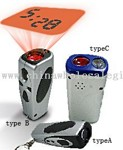 PROJECTOR CLOCK&FLASHLIGHT small picture