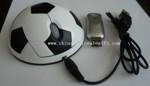 Football Shape Wireless Chargeable Mouse small picture