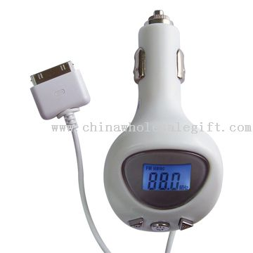 : FM transmitter with MP3 power supply
