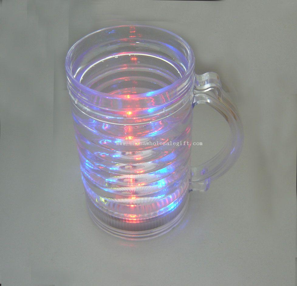 flashing beer cup