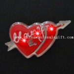 Cupids Bow Heart Flasher small picture