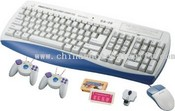 wireless control keyboard game medium picture