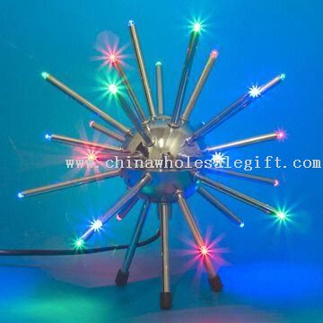 LED Novelty Light with Multicolor Function and Adapter