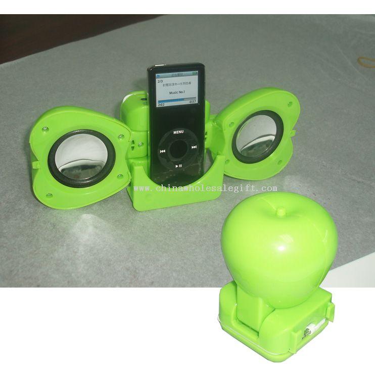 Apple Shape iPod Mini Speaker system