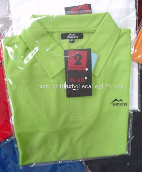 Description: men's polo shirts with dupon hangtag