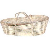 Straw Baby Basket