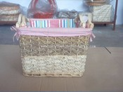 Willow And Wood Basket images