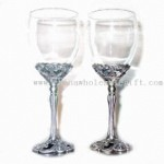 8.5 oz Inner Heart Set Wine Glass small picture