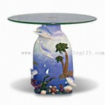 Polyresin Dolphin Table small picture