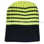Striped knitted hats small picture