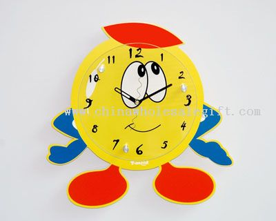Characters Wall Clock Cartoon Wall Clock