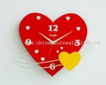 Heart wall clock small picture