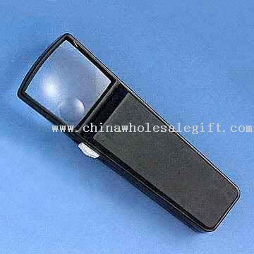 Square Illuminating Magnifier/Magnifying Glass