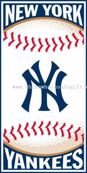 new york yankees. New York Yankees 30x60 Beach
