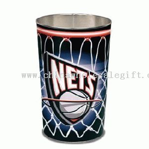 This Nets garbage can could be yours.