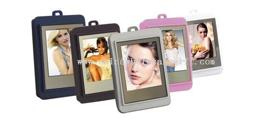 1.5 inches digital keychain frame square