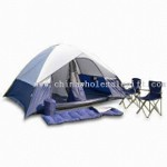 Outdoor/Camping Tent Set with Sleeping Bag small picture