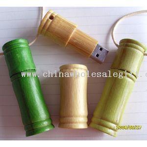 Bamboo unidad flash USB