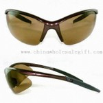 Sports Sunglasses with Metal Patten on Temple small picture