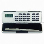 Magic Box Calculator with Ballpen Eight Digits with Percentage Function small picture