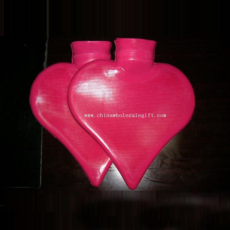 Heart Shape Hot Water Bottle