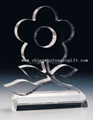 K9 optical glass Crystal Trophy images
