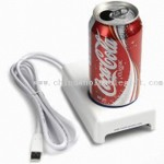 USB Drink Cooler and Warmer Made of ABS small images