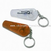 All-in-one Keychains with Safety Whistle and LED Lights images