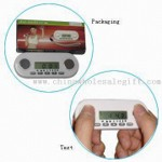 Body Fat Analyzer with LCD Display and 12/24-hour Real-time Clock Display small picture
