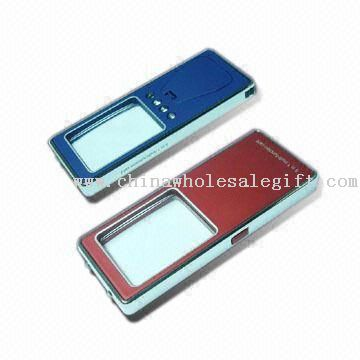 Multi-function Card LED Flashlights with LED Torch, Money Detector, Magnifier and PDA