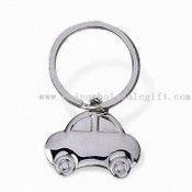Car-shaped Metal Keychain images