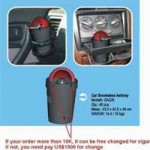 smokeless ashtray for car small picture