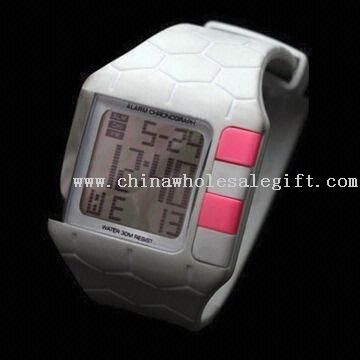 promotional digital watches RF4106 Watch with Digital LCD Screen and Water Resistant