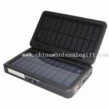 Mobile Cargador solar con 2800mAh, Encargado de teléfono móvil, ordenador portátil, MP3, MP4 y Cámara