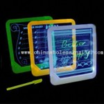Acrylic Engraving LED Memo Board with Color Highlighter Marker Pen and LED Backlight small picture
