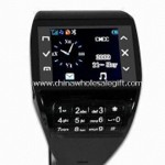 Watch Mobile Phone with 1.3-inch TFT Display and Integrated Handsfree Speaker small picture