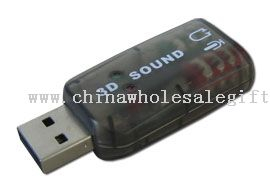 5.1 Sound Card USB Audio Adapter
