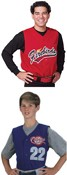 Youth and Adult Pro-Style Six Button Baseball Jerseys images