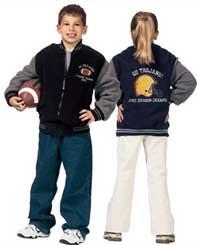 Los Premios Juveniles de Fleece Varsity Jacket