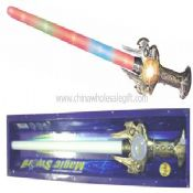 Flashing Sword With Rainbow Ball And Sound images