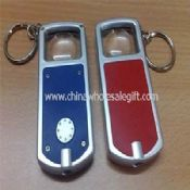 LED Flashlight Keyring With Magnifier Lens medium picture