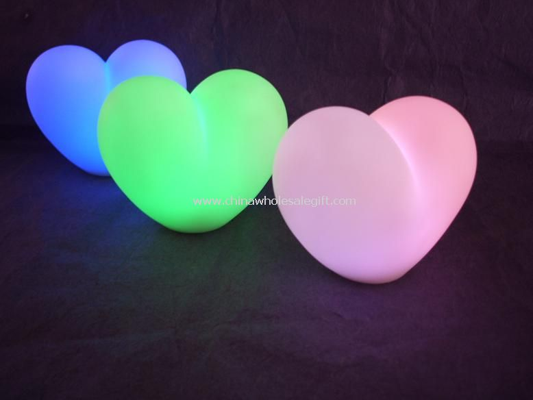 Color-Changing Heart Light