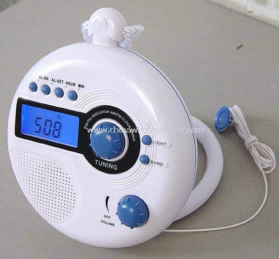 Douche radio - Douche avec radio integree ...