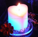 Heart Shaped LED Candle small picture