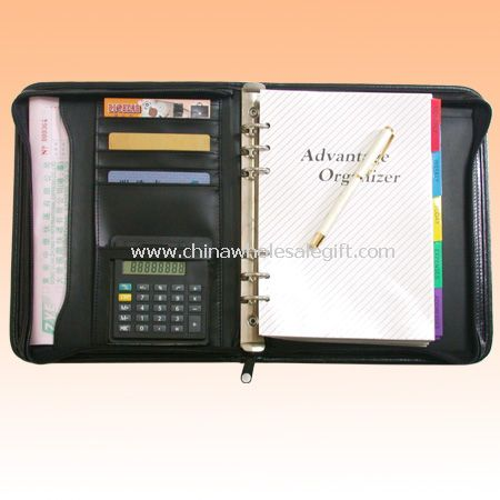 View Leather Business Organizer Printing