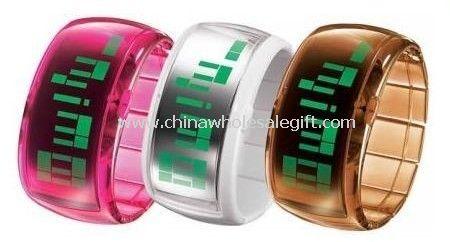Banda transparente claro LED Watch