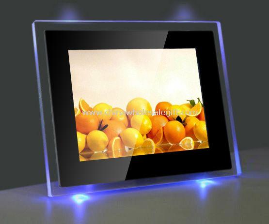 10,4 pulgadas marco de Foto Digital con luz LED